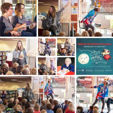 National Simultaneous Story time at Brighton Library - Emma Bowd Author