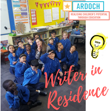 Emma Bowd - Writer in Residence - Mother of God Primary - Ardeer
