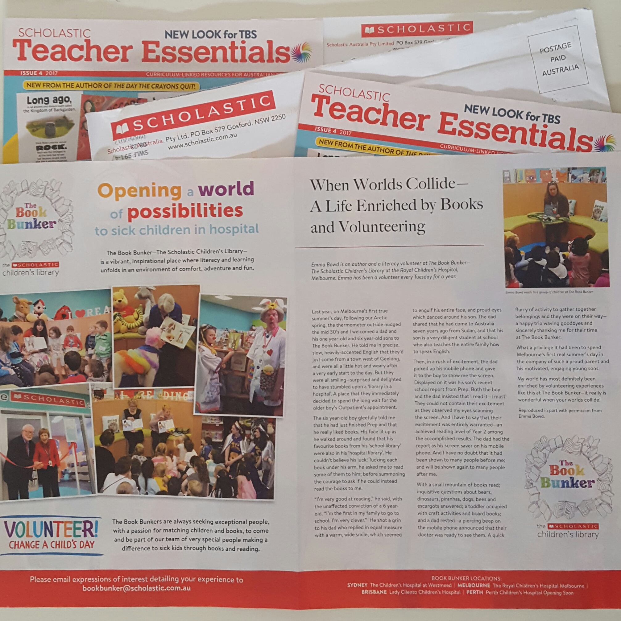 Scholastic Teacher Essentials Magazine - Issue 4, May 2017 - Emma Bowd