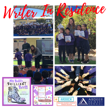 Emma Bowd - Writer in Residence - Ardeer Primary School - 2019