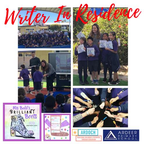 Emma Bowd - Writer in Residence - Ardeer Primary School - 2019