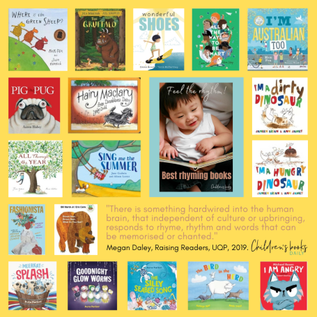 Wonderful Shoes named in 'Best Rhyming Books for Children' by Megan Daley