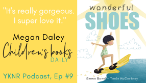 Wonderful Shoes Book Review by Megan Daley